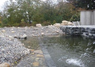 Gartenumänderung Schwimmteich 10