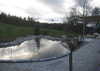 Gartenumänderung Schwimmteich