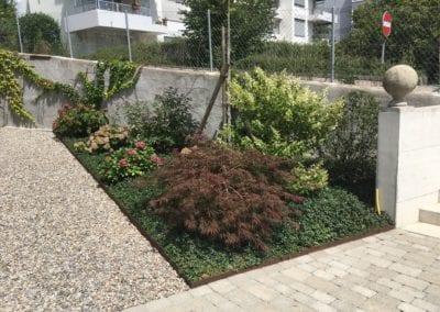 Gartenumänderung MFH Brügg