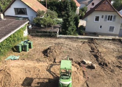 Gartenumänderung Brügg