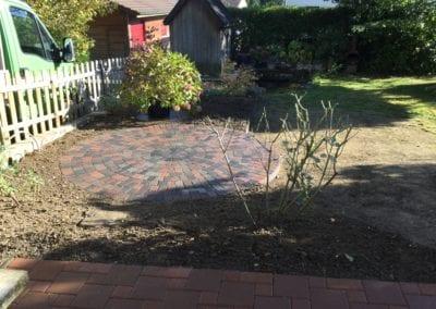 Gartenumänderung EFH Brügg