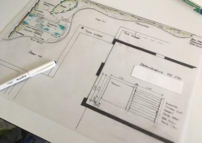 Gartenplanung Grundriss Maibach Gartenbau GmbH Safnern Seeland 1