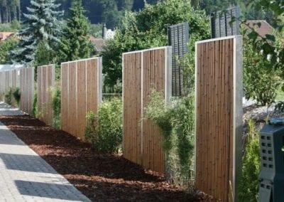 Sichtschutz Bambooline Maibach Gartenbau GmbH Meinisberg Seeland