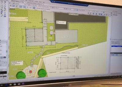 Gartenplanung CAD Vectorwork Maibach Gartenbau GmbH