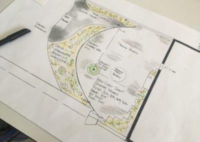 Gartenplanung Grundriss Maibach Gartenbau GmbH Safnern Seeland 2