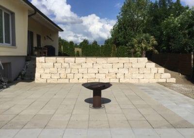 Jurasteinmauer Maibach Gartenbau GmbH Safnern