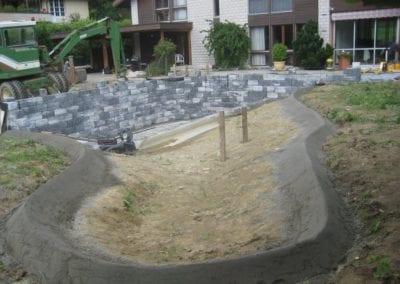 Gartenumänderung Schwimmteich 4