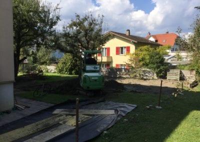 Gartenumänderung EFH Nidau