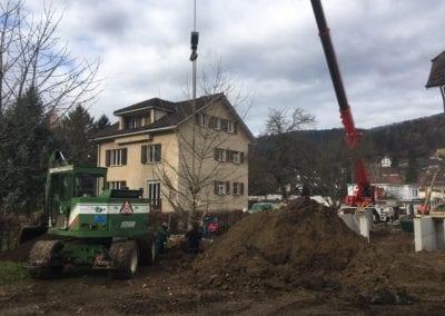 Grossbaumverpflanzung Maibach Gartenbau GmbH Safnern Lengnau Seeland 10