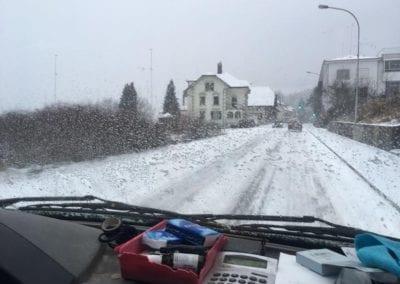 Schneeräumung Maibach Gartenbau GmbH Safnern Nidau Biel Seeland 3
