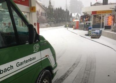 Schneeräumung Maibach Gartenbau GmbH Safnern Nidau Biel Seeland 6