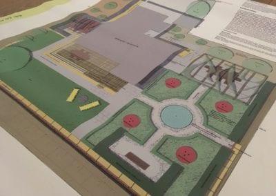 Gartenplanung Ausführungsplan Maibach Gartenbau GmbH Safnern Seeland
