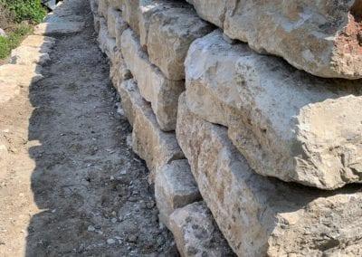 Jurastein Blockmauer Maibach Gartenbau GmbH Safnern Biel Seeland (2)